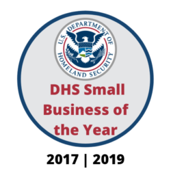 DHS Small Business of the Year Logo