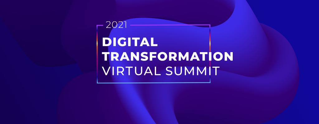 Digital Transformation Virtual Summit banner