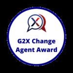 G2X Change award logo