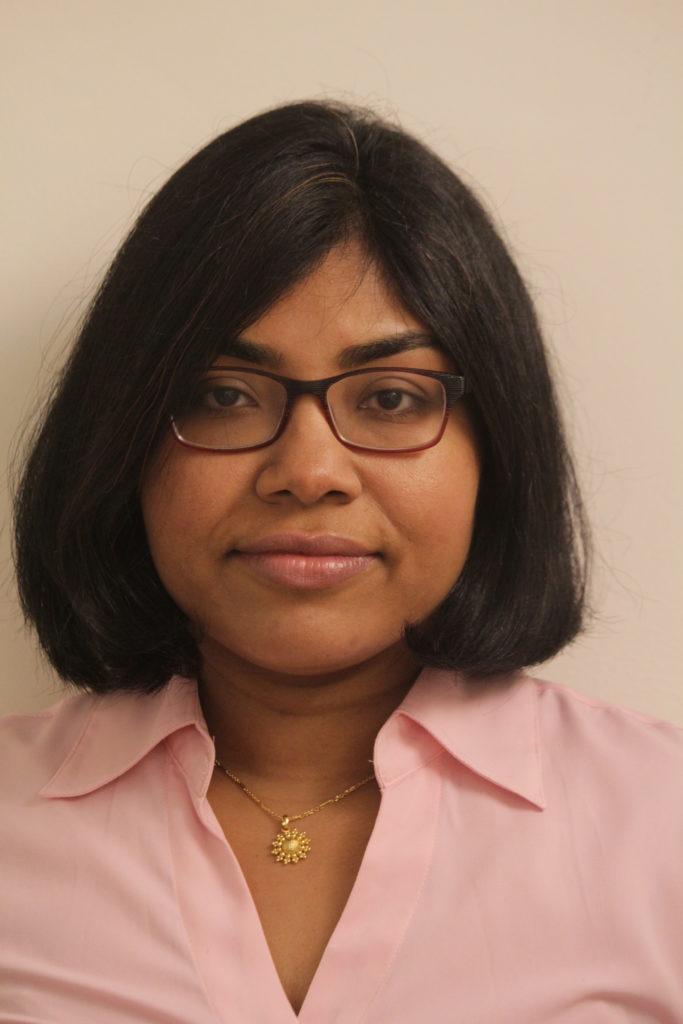 A photo of Urmi Majumder