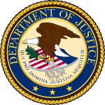 DOJ logo resized 150